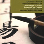 "Now available online ""The Management of Linguistic Diversity and Peace Processes"""