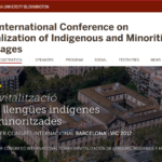 Linguapax roundtables at the First International Conference on the Revitalization of Indigenous and Minoritized Languages