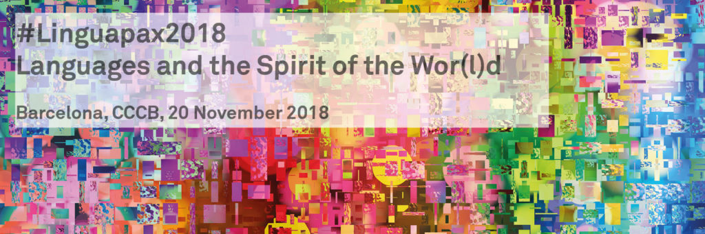 #Linguapax2018 – Languages and the Spirit of the Wor(l)d