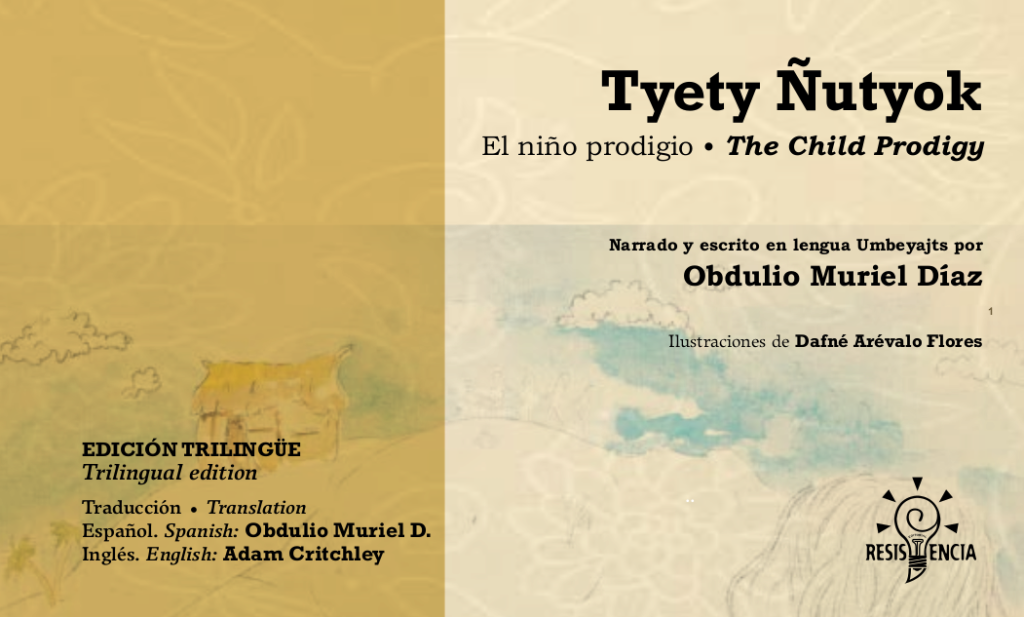 Book presentation: Tyety Ñutyok (The child prodigy), at the Latin American Delegation
